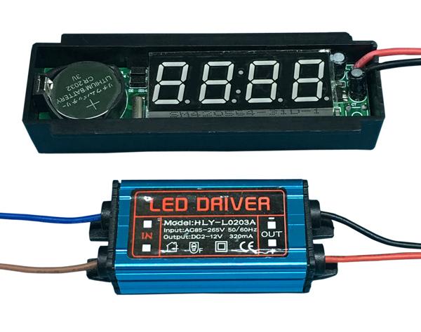 灯镜时钟显示屏(220V) XD-903