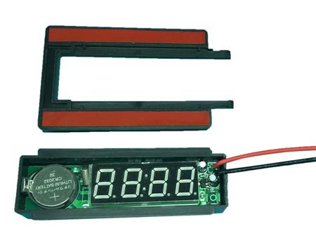 灯镜时钟显示屏(12V) XD-904