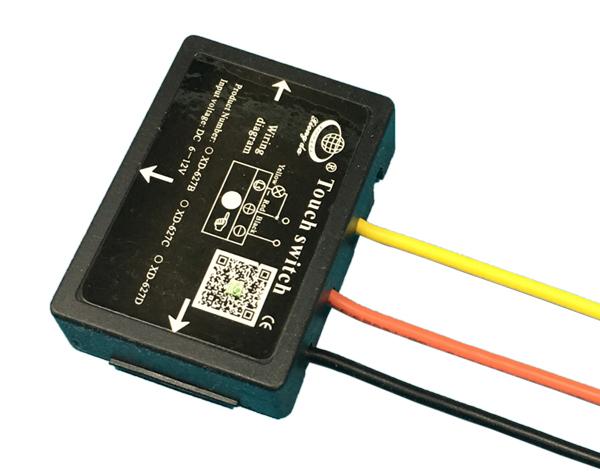 LED灯镜触摸开关(4档调光)XD-627C